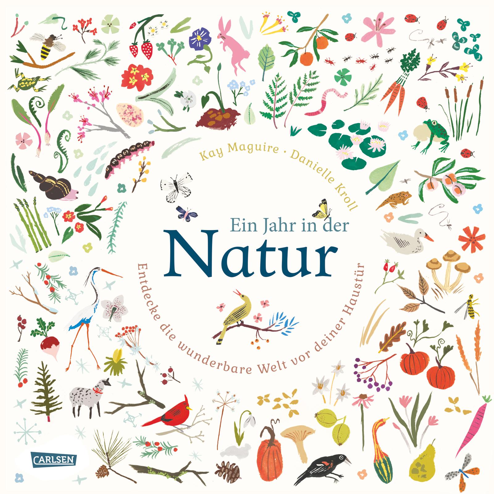 DIE PRESSESTELLE_Regine Bruns_Carlsen Verlag_Ein Jahr in der Natur
